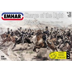 Charge of the Light Brigade Crimean War 1854-56. Escala 1:72. Marca Emhar. Ref: EM7207.