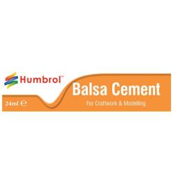 Pegamento Balsa Cement. Tubo de 24 ml. Marca Humbrol. Ref: AE0603.