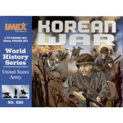 Set  Ejército de EEUU en la guerra de Corea. Escala 1:72. Marca Imex. Ref: IM529.