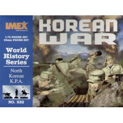 Set Tropas KPA de Corea del Norte. Escala 1:72. Marca Imex. Ref: IM532.