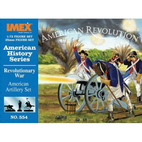 Set Artilleria Americana. Escala 1:72. Marca Imex. Ref: IM554.