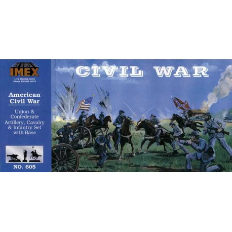 Set Guerra Civil Americana. Escala 1:72. Marca Imex. Ref: IM605.