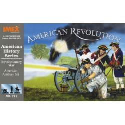 Set Artillería Americana de la guerra de la Independencia. Escala 1:32. Marca Imex. Ref: IM711.