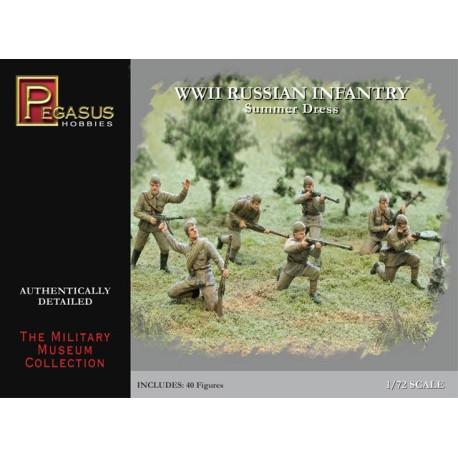 Infantería Rusa de la WWII. Escala 1:72. Marca Pegasus. Ref: PG7268.