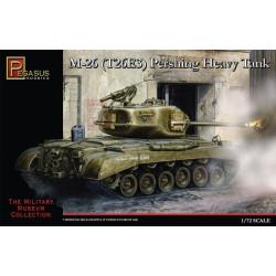Tanque pesado M26 ( T26E3 ) Pershing . Escala 1:72 / 76. Marca Pegasus. Ref: PG7505.
