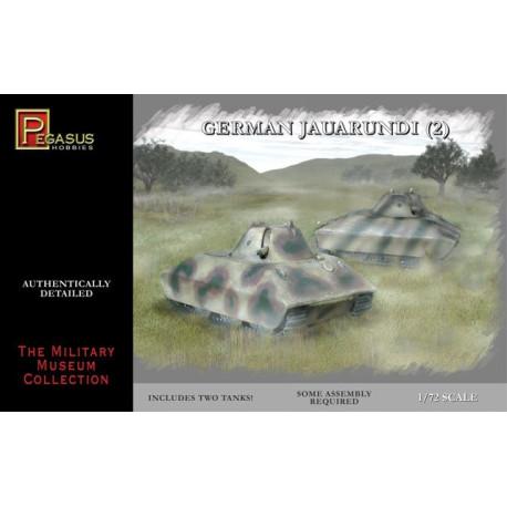 Tanque Jaguarundi WWII. 2 piezas. Escala 1:72. Marca Pegasus. Ref: PG7606.
