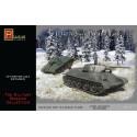 Tanque T-34/76 sovíetico, WWII, 2 piezas. Escala 1:72. Marca Pegasus. Ref: PG7661.