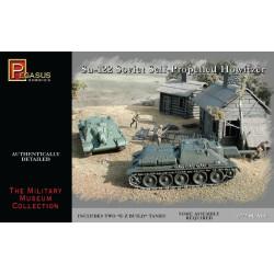 Tanque SU-122 Soviético Self-propelled howitzer. Escala 1:72. Marca Pegasus. Ref: PG7664.