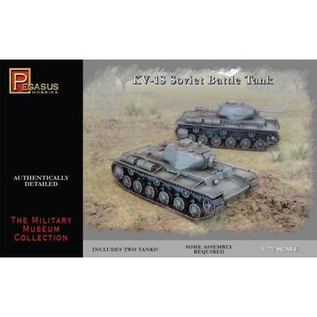 Tanque soviético KV-1S. Escala 1:72. Marca Pegasus. Ref: PG7667.