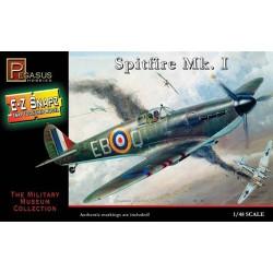 Caza Spitfire MK I. Escala 1:48. Marca Pegasus. Ref: PG8410.