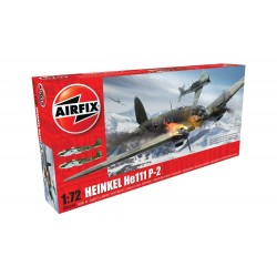 Avión Heinkel He.111 P2, WWII. Escala 1:72. Marca Airfix. Ref: A06014.