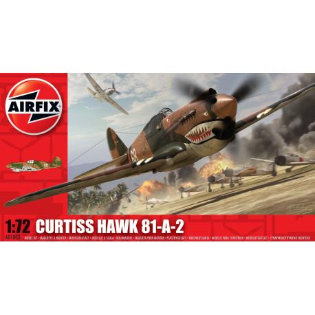 Avión Curtis Hawk 81-A-2. Escala 1:72. Marca Airfix. Ref: A01003.