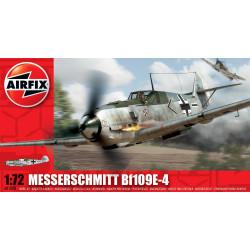 Caza Messerschmitt Bf 109E-4. Escala 1:72. Marca Airfix. Ref: A01008A.