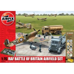 RAF Batalla de Inglaterra aeródromo Gift . Escala 1:76. Marca Airfix. Ref: A50015.