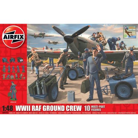 Set Segunda Guerra Mundial RAF Equipo terrestre, 1940-2015. Escala 1:48. Marca Airfix. Ref: A04702.