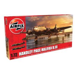 Set Handley Page Halifax B MkIII. Escala 1:72. Marca Airfix. Ref: A06008A.