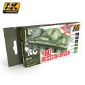 Set de modelismo 4BO verde ruso. Marca AK Interactive. Ref: AK553.