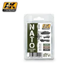 Set de colores OTAN. Marca AK Interactive. Ref: AK4001.