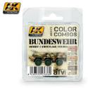Set de colores de camuflaje del desierto Bundeswehr. Marca AK Interactive. Ref: AK4175.