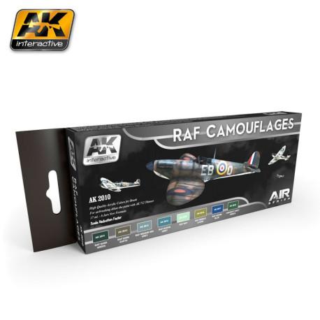 Set de colores de camuflaje Luftwaffe. Marca AK Interactive. Ref: AK2010.