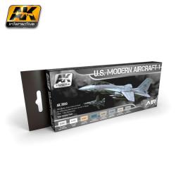 Set de colores de Aviones Mordenos de los EEUU,1. Marca AK Interactive. Ref: AK2050.