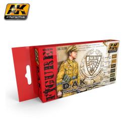 Set colores para uniforme de la DAK. Marca AK Interactive. Ref: AK3110.