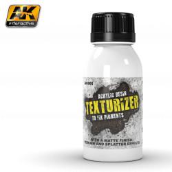 Texturizador de resina blanca. Marca AK Interactive. Referencia: AK665.