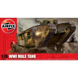 Tanque Male WWI. Escala 1:76. Marca Airfix. Ref: A01315.