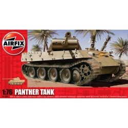 Tanque Panther WWII. Escala 1:76. Marca Airfix. Ref: A01302.