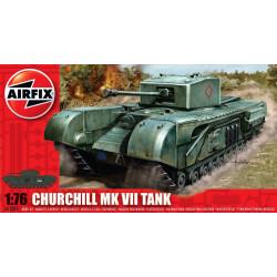 Tanque Churchill MKVII. Escala 1:76. Marca Airfix. Ref: A01304V.