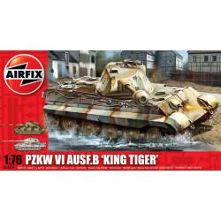 Tanque Pzkw VI Ausf.B ''King Tiger''. Escala 1:76. Marca Airfix. Ref: A03310.