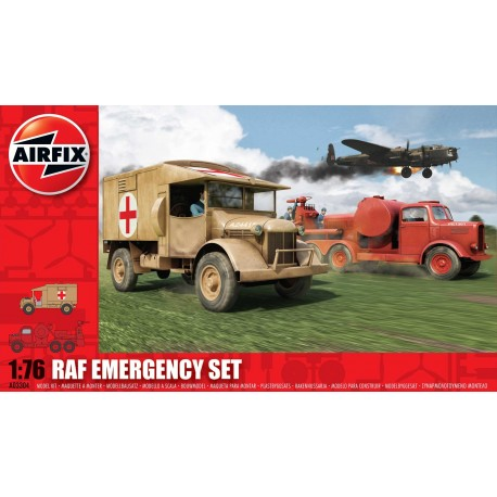 Set de Emergencia RAF. Escala 1:76. Marca Airfix. Ref: A03304.