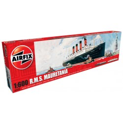 Crucero RMS Mauretania. Escala: 1:600. Marca: Airfix. Ref: A04207.