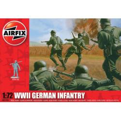 Set de Figuras de Infanterìa Alemana WWII. Escala 1:72. Marca Airfix. Ref: A00705.