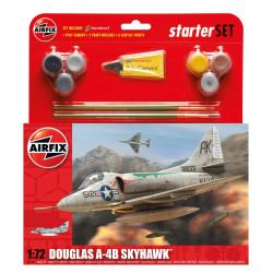 Avión Douglas A-4B  Skyhawk. Escala 1:72. Marca Airfix. Ref: A55203.