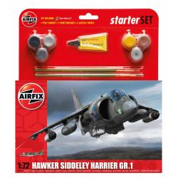 Avión Hawker Siddeley Harrier GR1. Escala 1:72. Marca Airfix. Ref: A55205.