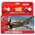 Set Caza Curtiss P-40 Tomahawk IIB. Escala 1:72. Marca Airfix. Ref: A55101.