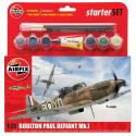 Set Caza Boulton Paul Defiant Conjunto Mk.I.. Escala 1:72. Marca Airfix. Ref: A55213.