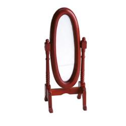 Espejo oval con soporte. Marca Artesanía Latina. Ref: 98508.
