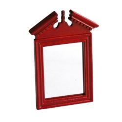 Espejo cuadrado enmarcado. Marca Artesanía Latina. Ref: 13442.