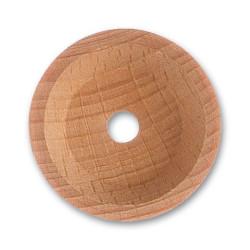 Cofa de haya , diámetro 35 mm.  Marca Artesanía Latina. Ref: 8583.