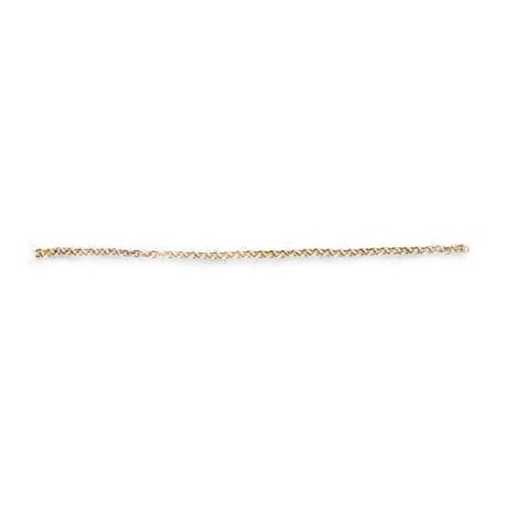 Cadena de latón 0.5 mm y longitud 0.5 m. Marca Artesanía Latina. Ref: 8607.
