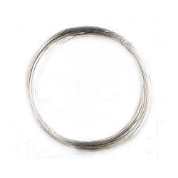 Hilo galvanizado diámetro 0.25 mm, longitud 5 m. Marca Artesanía Latina. Ref: 8625.