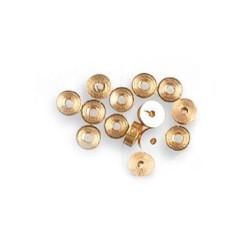 Ruedas cañón diámetro 4 x 1.5 mm ( 24 uds ). Marca Artesanía Latina. Ref: 8644.