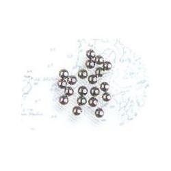 Balas de cañón en metal diámetro 2 mm ( 20 uds ). Marca Artesanía Latina. Ref: 8659.