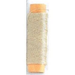 Hilo crudo de algodón diámetro 0.15 mm ( 40 m ). Marca Artesanía Latina. Ref: 8801.