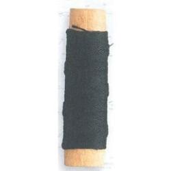 Hilo negro de algodón diámetro 0.15 mm ( 40 m ). Marca Artesanía Latina. Ref: 8811.