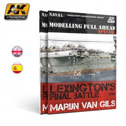 Modelling full ahead special. Marca AK Interactive. Ref: AK668.