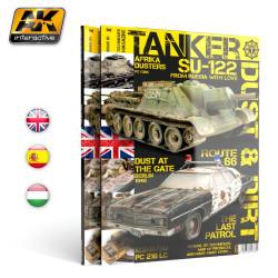 Revista Tanker 03. Polvo y suciedad. Marca AK Interactive. Ref: AK4818.