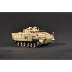 Tanque Warrior MCV80 w/up-armour. Escala 1:72. Marca Trumpeter. Ref: 07102.